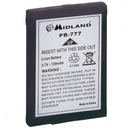 Bateria Litio 650mAh p/ Alan 777